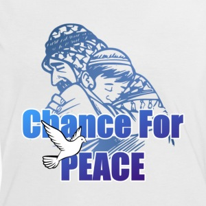 Chance For Peace T-Shirts - Women's Ringer T-Shirt