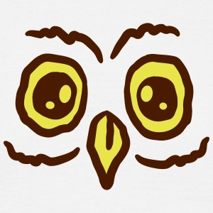 Sweet owl face T-Shirts - Men's T-Shirt