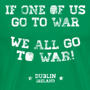 Conor McGregor: If One Of Us Goes To War - Men's Premium T-Shirt
