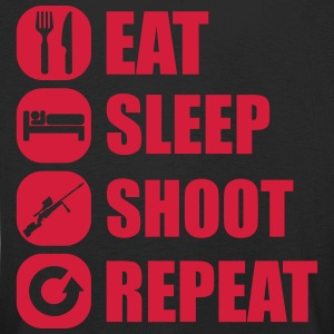 eat_sleep_weapon_repeat_6_1f Langarmshirts - Kinder Premium Langarmshirt