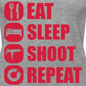 eat_sleep_weapon_repeat_5_1f Toppe - Dame Premium tanktop