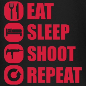 eat_sleep_weapon_repeat_5_1f Manches longues - T-shirt manches longues Bébé