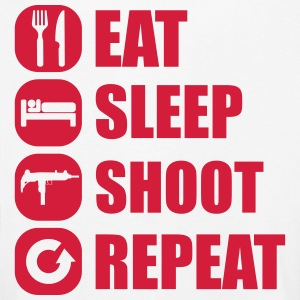 eat_sleep_weapon_repeat_5_1f Långärmade T-shirts - Långärmad premium-T-shirt barn