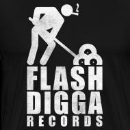 Motiv ~ Flashdigga Shirt Weiss/Schwarz