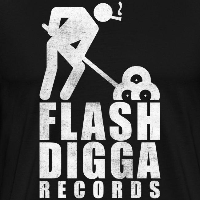 Flashdigga Shirt Weiss/Schwarz