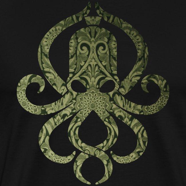 Tintenfischwurst Shirt Grün/Schwarz