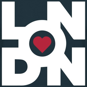 Love London T-Shirt - Männer T-Shirt