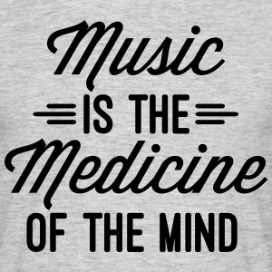 Music Medicine Of The Mind  Tee shirts - T-shirt Homme