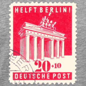 Helft Berlin Briefmarke 20 + 10 Rot 1948