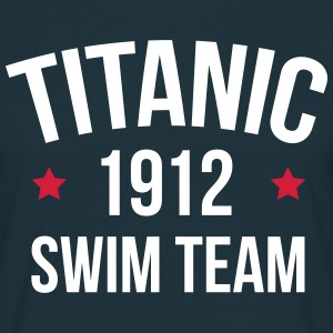 Titanic Swim Team  T-shirts - Mannen T-shirt