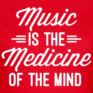 Music Medicine Of The Mind  T-shirts - Dame-T-shirt