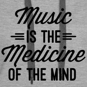 Music Medicine Of The Mind  Sweat-shirts - Sweat-shirt à capuche Premium pour femmes