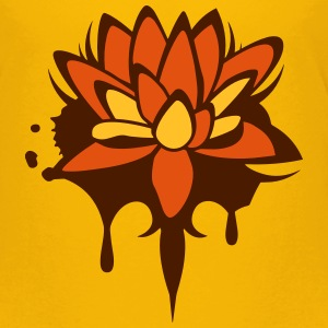 Lotus flower graffiti Shirts - Kids' Premium T-Shirt