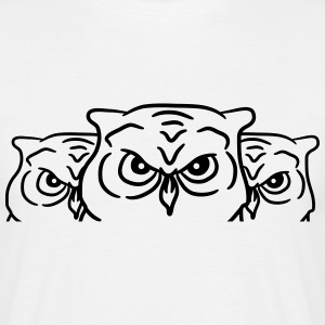 3 wicked cool ugler hold venner T-shirts - Herre-T-shirt
