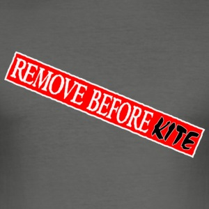 remove before kite fr - Tee shirt près du corps Homme