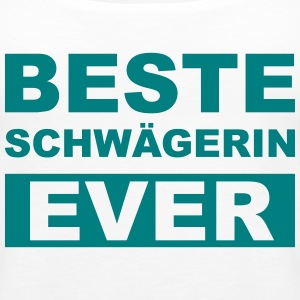 Beste Schwägerin ever Tops - Frauen Premium Tank Top