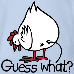 Guess what? (Chicken butt!) Tee shirts - Body bébé bio manches courtes