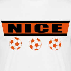 Nice football 2 Tee shirts - T-shirt Homme