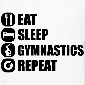 eat_sleep_gym_repeat_7_1f Manches longues - T-shirt manches longues Premium Homme