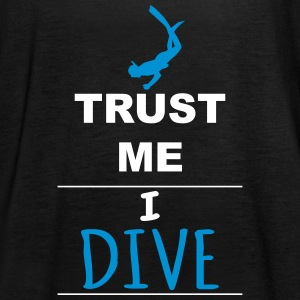 Trust me I Dive Tops - Women's Tank Top by Bella