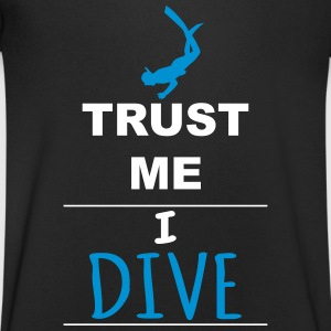 Trust me I Dive Tee shirts - T-shirt Homme col V