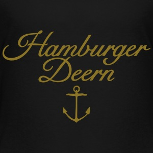 Hamburger Deern Teenager T-Shirt Klassisch Anker - Teenager Premium T-Shirt