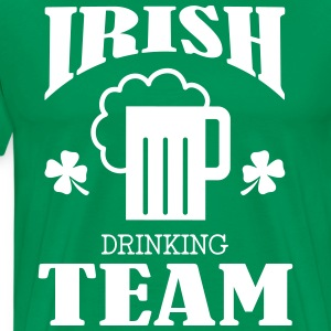 Irish Drinking Team T-Shirts - Männer Premium T-Shirt