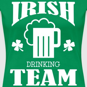 Irish Drinking Team T-shirts - Premium-T-shirt dam