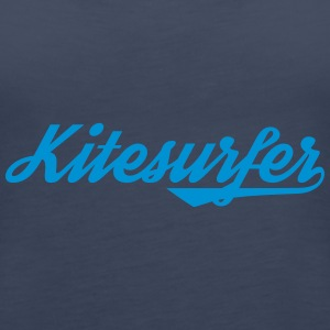 Kitesurfer Girls Kite Shirt Tank - Frauen Premium Tank Top