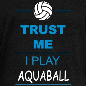 Trust me I play Aquaball Hoodies & Sweatshirts - Women's Boat Neck Long Sleeve Top