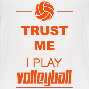 Trust me I play Volleyball Shirts - Teenage Premium T-Shirt