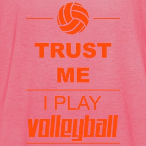 Trust me I play Volleyball Topy - Tank top damski Bella