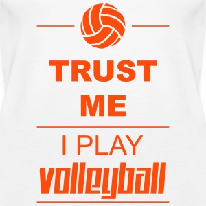 Trust me I play Volleyball Tops - Women's Premium Tank Top