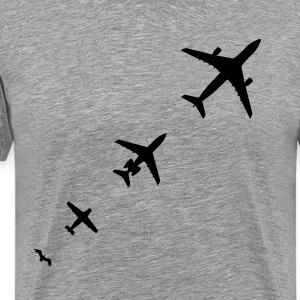 Aircraft Evolution T-Shirts - Men's Premium T-Shirt
