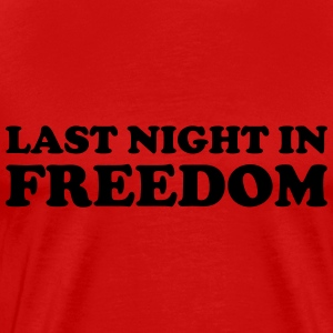 Last night in freedom T-Shirts - Men's Premium T-Shirt