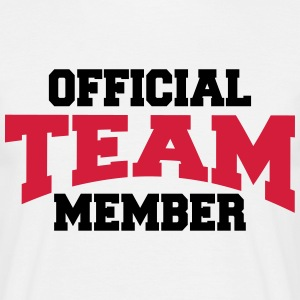 Official Team Member T-shirts - Mannen T-shirt