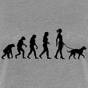 Evolution - Big Dog T-Shirts - Women's Premium T-Shirt