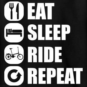 eat_sleep_ride_repeat_12_1f Tee shirts - T-shirt Ado