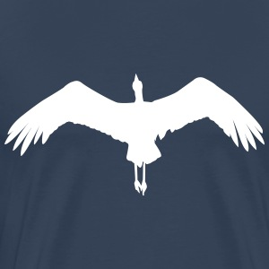 flying stork T-Shirts - Men's Premium T-Shirt