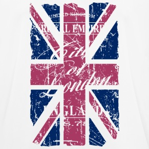 Union Jack - London - Vintage Look  T-Shirts - Männer T-Shirt atmungsaktiv