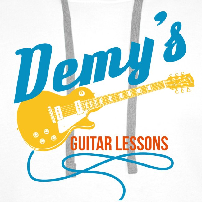 Hoodie with Classic DemysGuitarLessons Logo