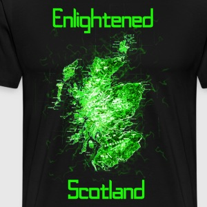 Enlightened Scotland T-Shirts - Men's Premium T-Shirt