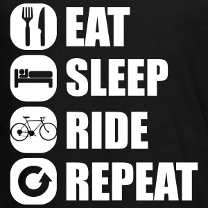 eat_sleep_ride_repeat_8_1f Shirts met lange mouwen - Teenager Premium shirt met lange mouwen