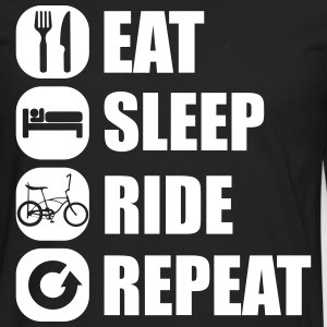 eat_sleep_ride_repeat_2_1f Manga larga - Camiseta de manga larga premium hombre