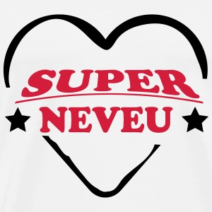 Super neveu 222 T-shirts - Herre premium T-shirt
