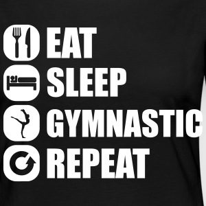 eat_sleep_gymnastic_repeat_5_1f Manches longues - T-shirt manches longues Premium Femme