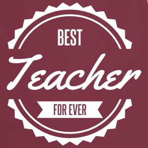 best teacher prof anglais Tabliers - Tablier de cuisine