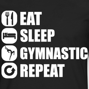 eat_sleep_gymnastic_repeat_1_1f Manches longues - T-shirt manches longues Premium Homme