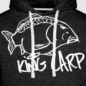 king carp Hoodies & Sweatshirts - Men's Premium Hoodie