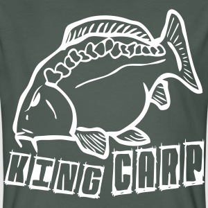 king carp1 T-Shirts - Men's Organic T-shirt